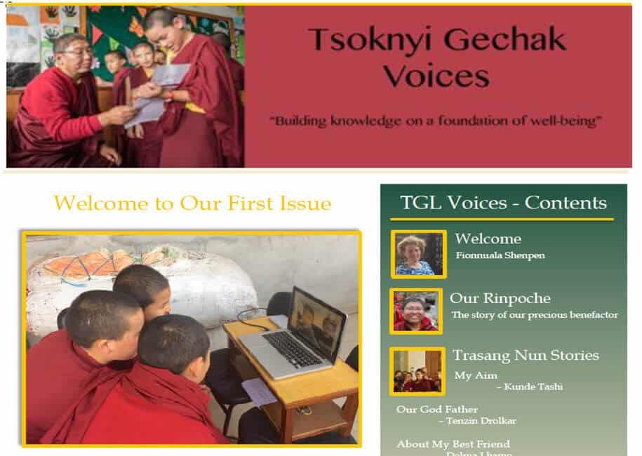 TGVoices, News from Tsoknyi Gechak Ling, February 2018